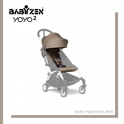 BabyZen Yoyo 6+ Color Pack - Taupe