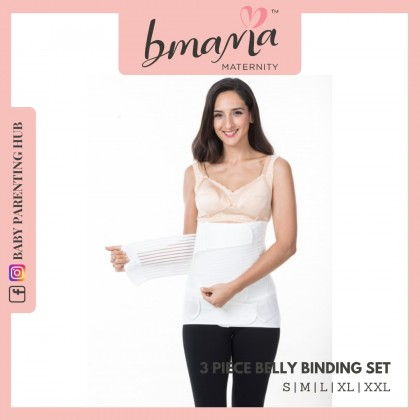 Bmama Belly Binding Set SS05 White S