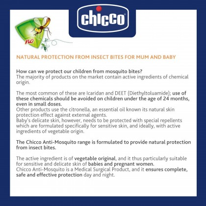 Chicco Anti Mosquito Natural After Bite Roll-On 10ml