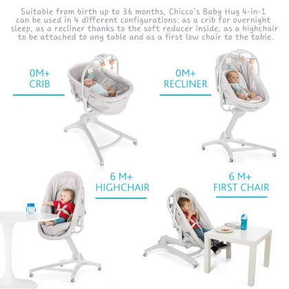 Chicco Baby Hug 4in1 - Airindia Ink