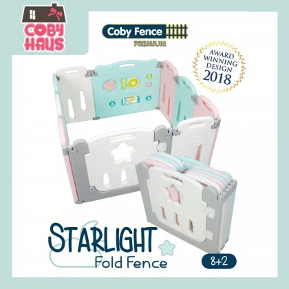 Coby Haus - Coby Fence 8+2 Starlight Folding Fence