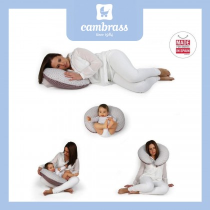 Comfy Baby Cambrass Small Nursing Pillow - Blue Star