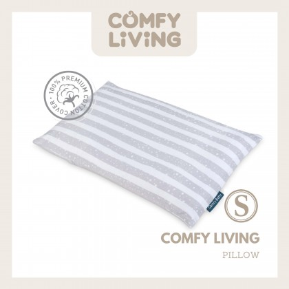 Comfy Living Baby Pillow & Bolster Set (S) Urban Grey