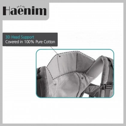 Haenim ALL-IN-ONE Baby Carrier Hipseat 9Plus - Black