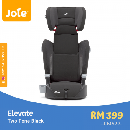 Joie Elevate Two Tone Black 9 to 36kg   1 to 12 years old