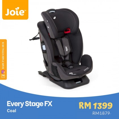 Joie Every Stage FX Coal Newborn to 36kg | Birth to 12 years old