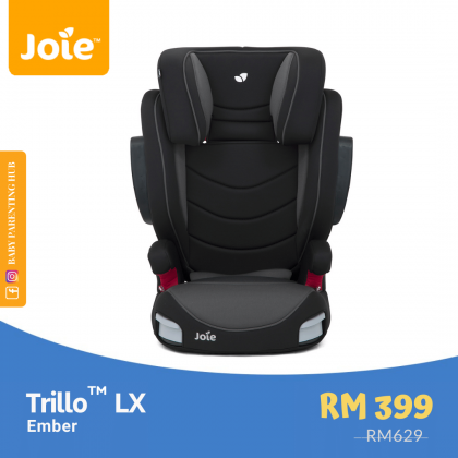 Joie Trillo LX Ember 15 to 36kg | 3 to 12 years old
