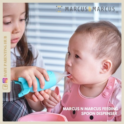 Marcus & Marcus Feeding Spoon Dispenser - Blue