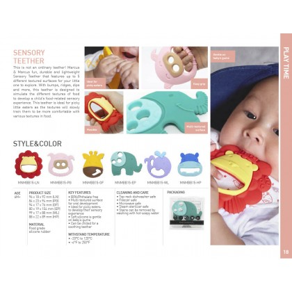 Marcus & Marcus Sensory Teether - Pokey
