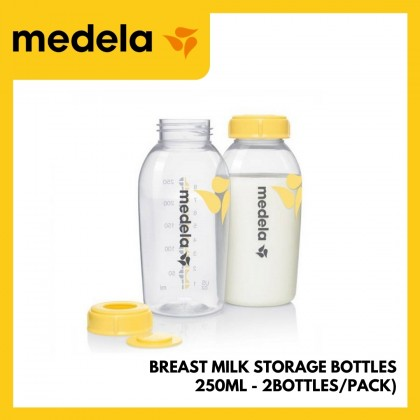 Medela Breast Milk Storage Bottles 250ml 2btls/pack