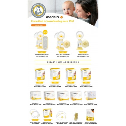Medela Freestyle Breast Pump Connector Assembled
