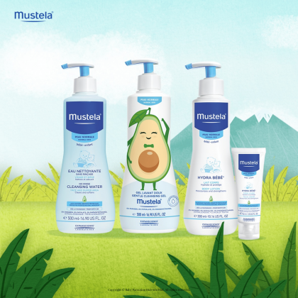 Mustela No Rinse Baby Cleansing Water with Avocado 300ml