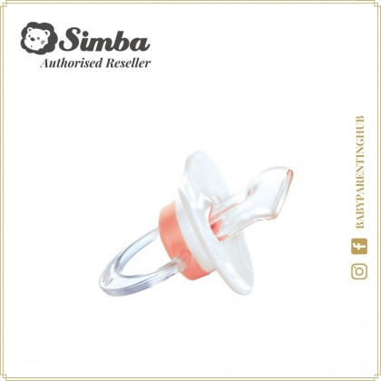 Simba Pacifier With Case Thumb Shaped Romance Pink 0months+