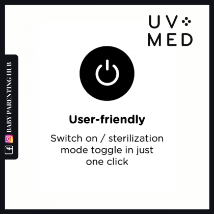 UVMed Hailey Pro Portable Handheld UVC LED Steriliser