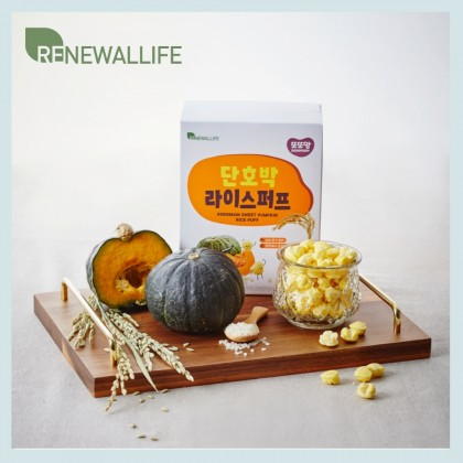 Renewallife DdoDdoMam Rice Puffs  - Sweet Pumpkin 20g
