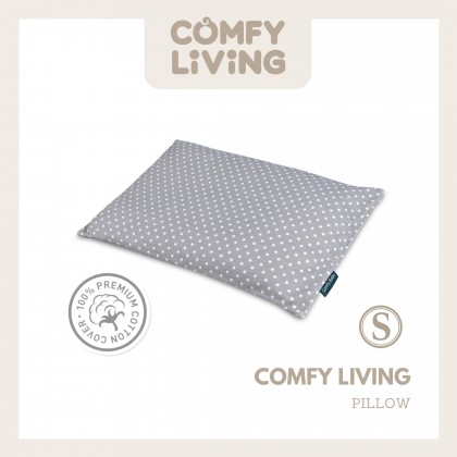 Comfy Living 6in1 Baby Bedding Set - Grey Dot