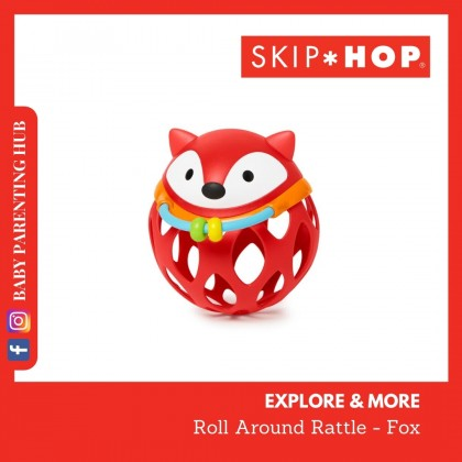 Skip Hop Explore & More Roll Around Rattles Fox