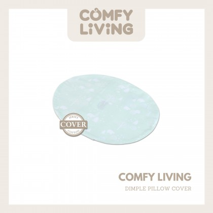 Comfy Living Dimple Pillow Cover - Green