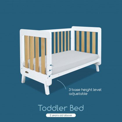 Comfy Baby Luca Baby Cot Only (Mattress Not Included)
