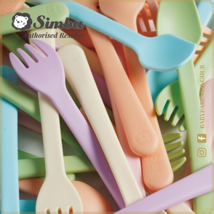 Simba Baby Fork & Spoon Set 6months+ It's Yummy Ocean