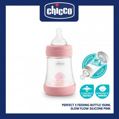 Chicco Feeding Bottle Perfect5 PP Girl 150 Slow Flow CL2