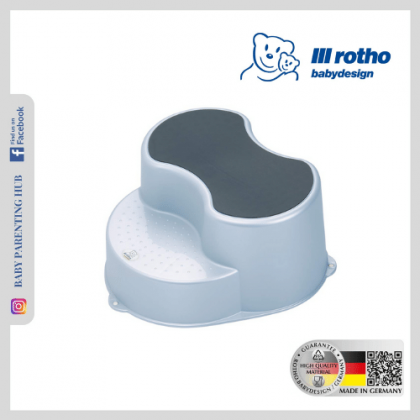 Rotho Step Stool Baby Blue Pearl