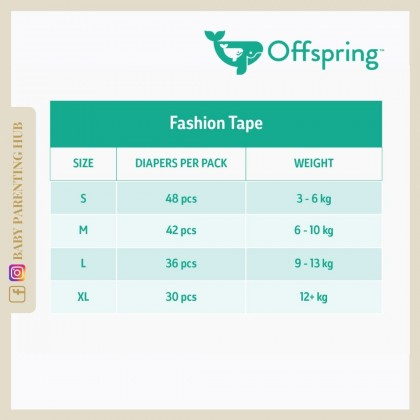 Offspring Fashion Tapes - FairyTale - S