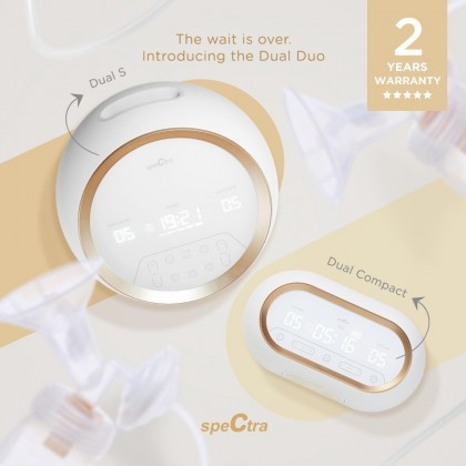 Spectra Dual Compact Double Breast Pump