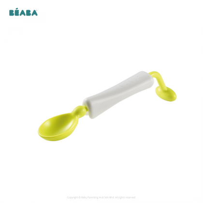Beaba 360 Degree Training Spoon 1 Piece Assorted Colors Blue | Neon | Nude