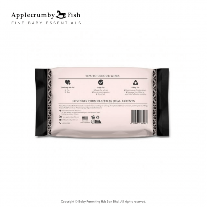 Applecrumby & Fish Extra Thick Baby Wipes 80s 2packs
